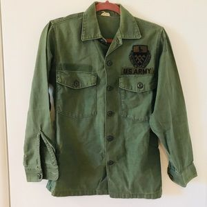 Jackets & Blazers - Authentic Vintage Army Military Jacket